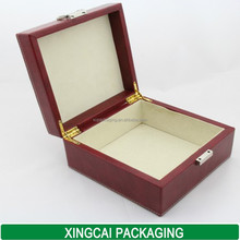 brand watch box gift with white thread on the top