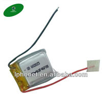 Promotion! small lithium polymer battery 3.7V 180mAh for bluetooth earphone