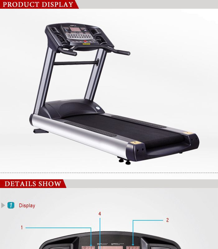 2015 New Model Motorized fitness Treadmill