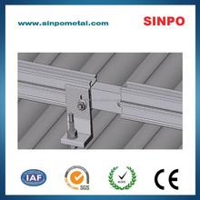 Aluminum solar mounting system for solar panel