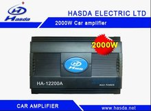 High power car amplifier with 2000w