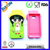 Colorful custom mobile accessories silicone phone case for iphone5S
