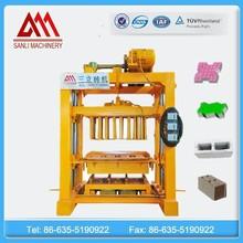 QT4-40 interlocking paver block making machine /concrete brick making machine mold