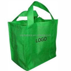 fruit bag, fruit shopping bag, Green Non Woven Bag print