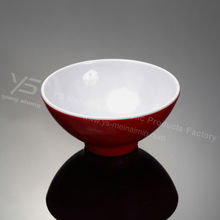 trending hot products melamine dinnerware custom two tone bowls