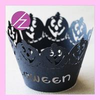 Free Design The Halloween Style Cupcake Decoration Wrapper DG-53