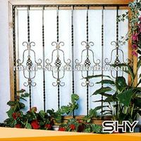 2014 Decorative Iron Windows,Wrought Iron Windows Grill Designs for Home