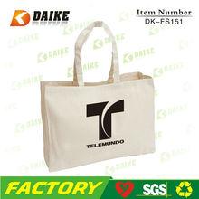 recyclable shopping cotton bag cotton canvas bag cotton canvas tote bag DK-FS151