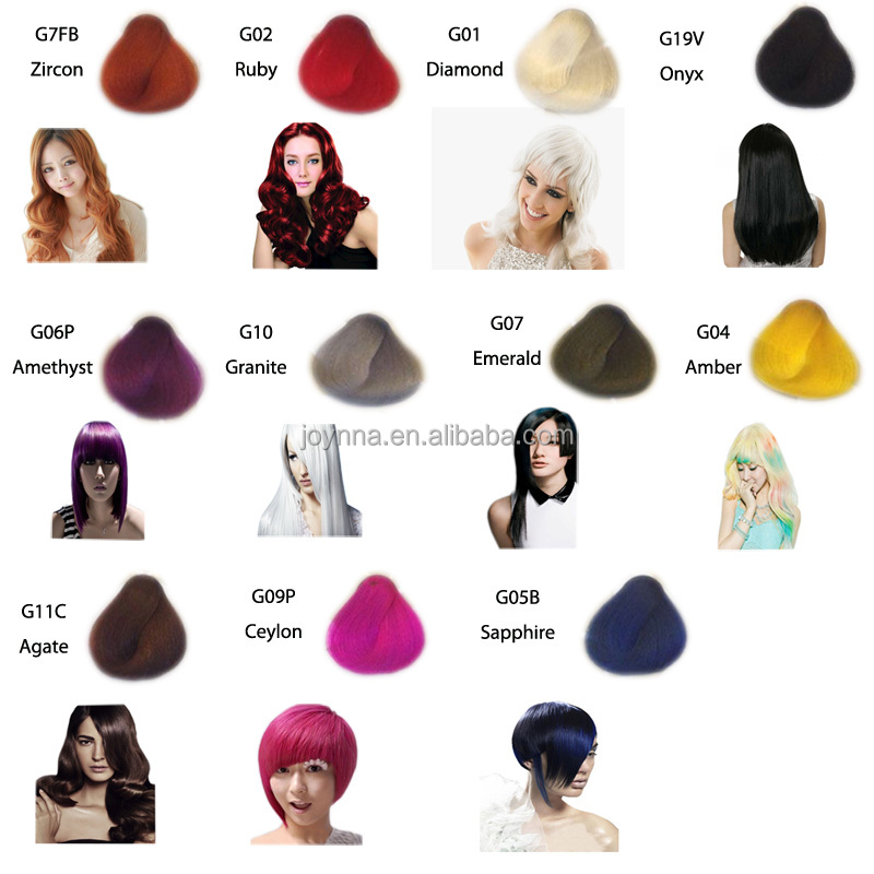 Korean Hair Manicure Color Special Effects Hair Dye Buy Temporary