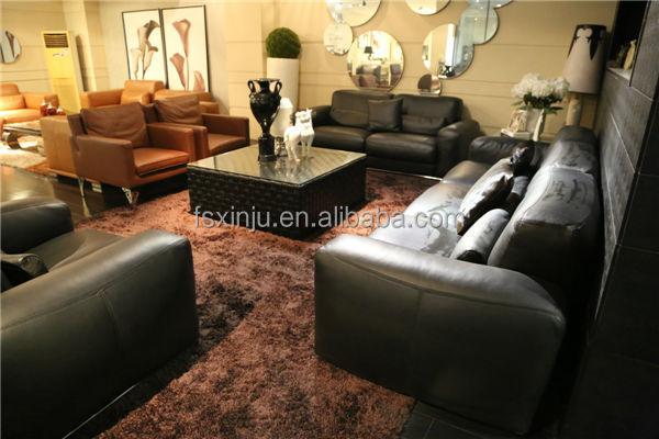 Moderne woonkamer meubels/lederen woonkamer banken f1361 woonkamer ...