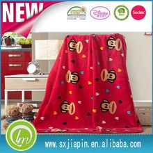 Economic professional coral fleece blanket oem brand