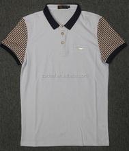 100% Cotton pique short sleeve polo t shirt