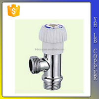 (2C-JE368) good sealing thread Brass angle valve for water