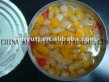 fruit cocktail in tins with high quality