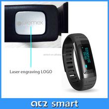 2015 New Electronic Intelligent Exercise Tracking Bands Smart Bracelet Wristband Sport Watch Pedometer Sleep Monitor WristWatch