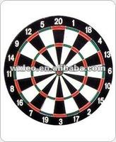 "18"" Dart board and darts"