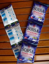 small size package detergent powder