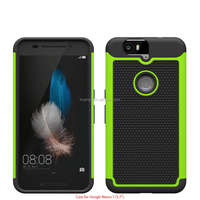 2015 Original Hybrid rugged Football pattern cover case mobile phone case for huawei nexus 6p made in china