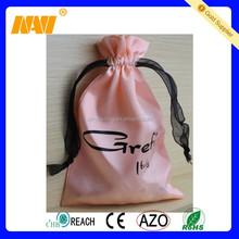 2015 high quality new design small satin gift bag