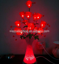 2015 hot attractive acrylic Christmas tree table light