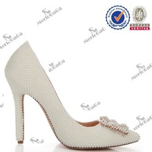 women fashion 2015 wedding leather shoes by online