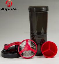 BPA-free high-quality 12oz protein shake blender joyshaker bottle with stainless steel shaker ball