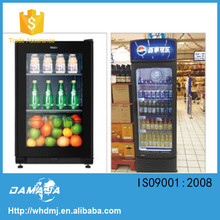 3 glass door large for retail store merchandising can, coke display cooler fridge refrigerator