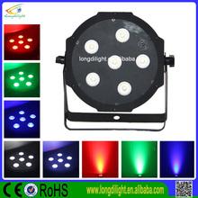led par 64 ,stage IR REMOTE Par light ,infrared 6*10w quad IR remote flat par