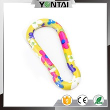 fashionable printing customized carabiner