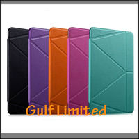 New arrival MOMAX transformer style leather booklet cover case for IPAD AIR