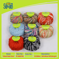 factory best sales 100g weight ball chunky blend yarn for hand knitting