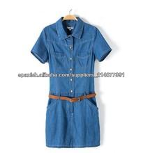 2013 largo verano azul de moda los pantalones vaqueros falda s131221