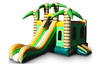 Jungle Slide Combo, inflatable bouncer combo with slide