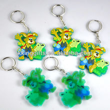 2014 Wholesale fashion rubber custom promotion so Promotional soft pvc keychain are FactoryMade Ventures