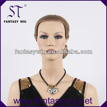 2014 Chinese factroy producing gray white ponytail fashion ladies wigs
