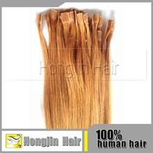 TH-045 Top 5a 100 Keretin Tipped Human Hair Extension Genuine Raw U Tip Indian Virgin Human Hair Extensions