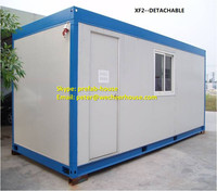 the prefabricated flat-pack container house for chemical store