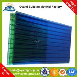 Building material uv coating 6mm 8mm 10mm light diffusion pc sheet for bus station