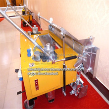Zhengzhou Sincola Automatic wall cement plastering machine price with 120cm plaster trowel