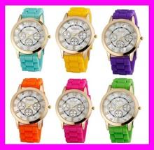 Good price fashion trendy design geneva quartz wholesale cheap silicone watches HD1894