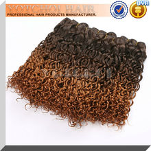 2015 hot sale top quality very cheap omber hair weave