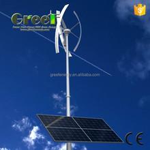 NEW! wind turbine and solar panel hybrid system 1000w, off-grid wind hybrid solar, easy installation