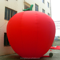 NB-AD3027 Giant New Design inflatable apple for sale
