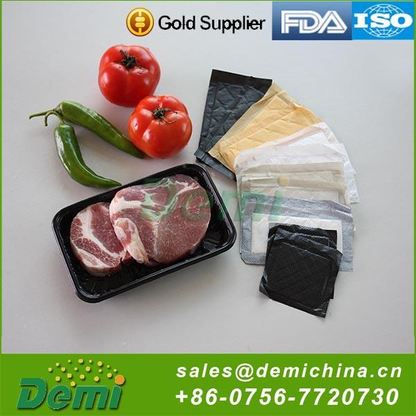 Fonte da fábrica preço atrativo absorventes para embalagem de carne