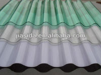 0.8-2mm thickness colored PC Corrugated Sheet for roofing