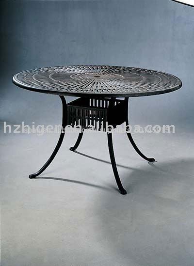 Fundici n de aluminio de mesa de partes silla de aluminio for Aluminio productos de fundicion muebles de jardin