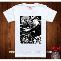 Most Fashion T-shirt In Europe Cheap Man Shirt Custom Design
