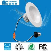 ENERGY STAR ETL listed Dimmable 19W 6inch high power downlight led Recessed Lighting Fixture