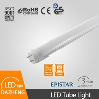 Indoor lighting T8 led tube light with frosted lens and PC material
