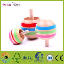 Factory Sale Hot Sale Children Wooden toys Spinning